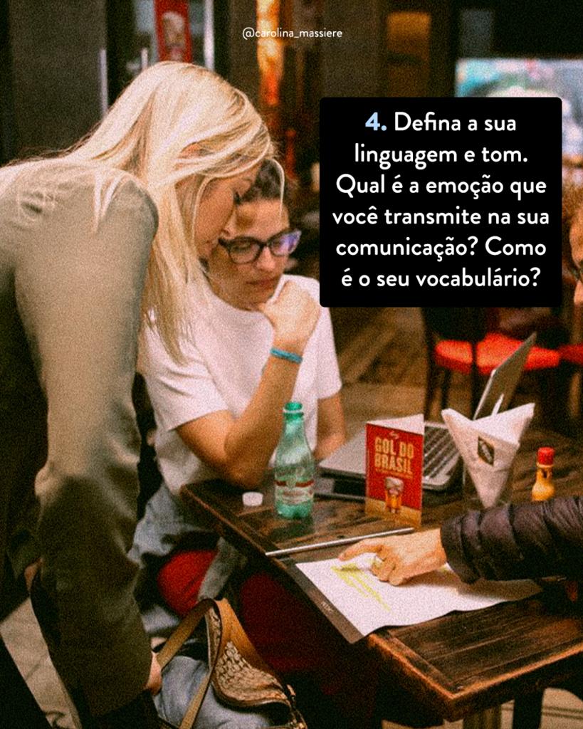 Propósito na vida, Carolina Massiere, Carol Massiere